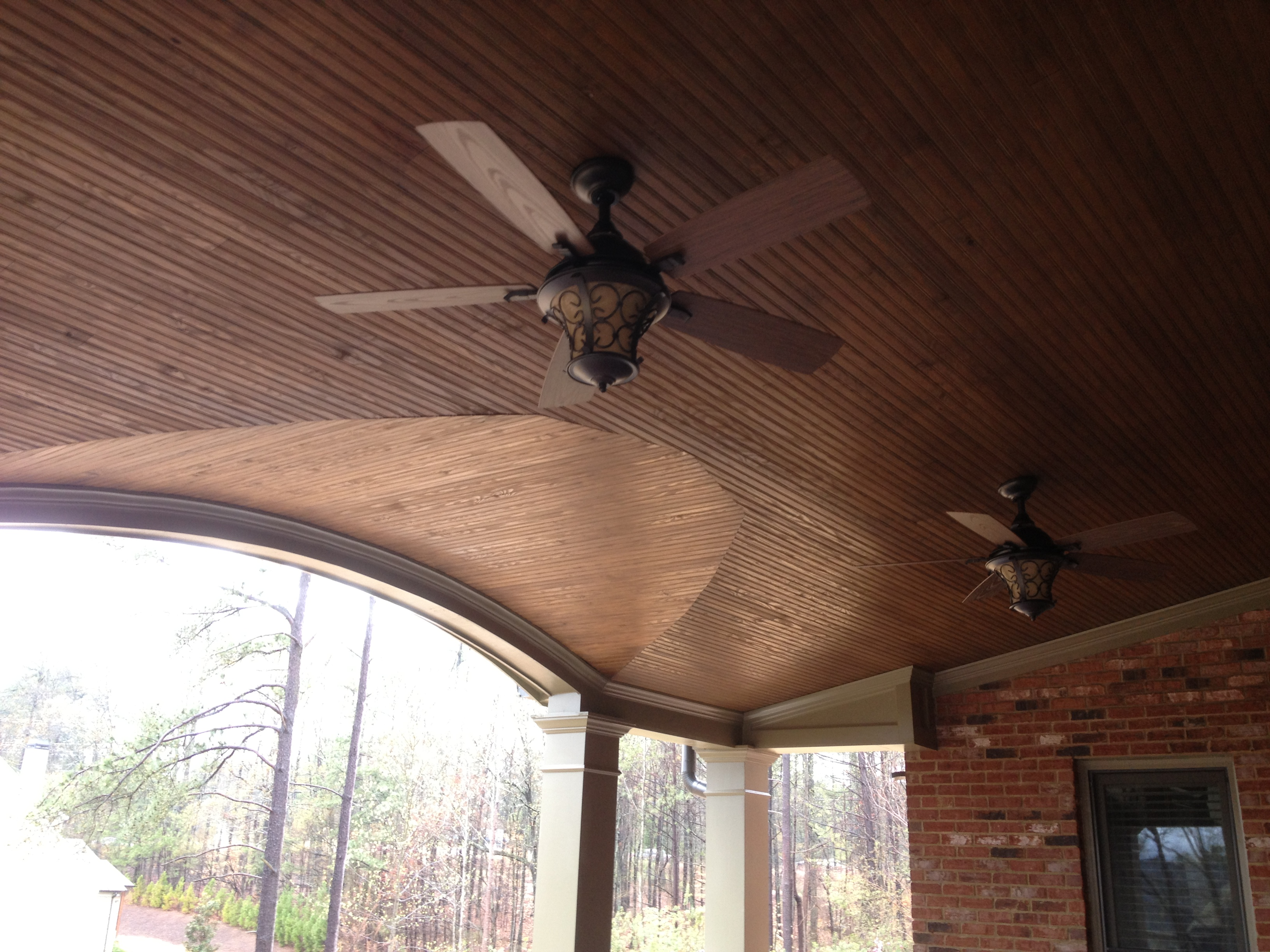 Custom Patio Ceiling